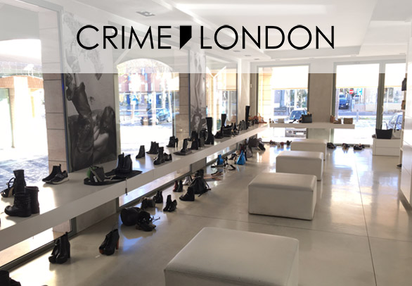 Scarpe, sneakers calzature Crime London