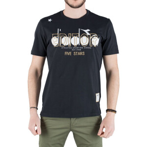 T-shirt THE EDITOR E606A29N33 Black