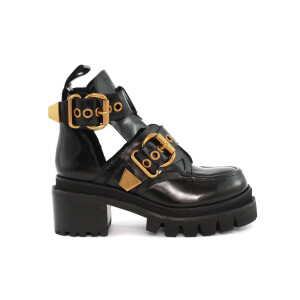 Stivaletto JEFFREY CAMPBELL DRIFTER/41JC015 Black Box Calf