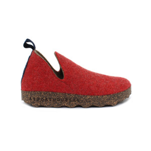 Scarpa ASPORTUGUESAS CITY RED DOUBLE TWEED 3034