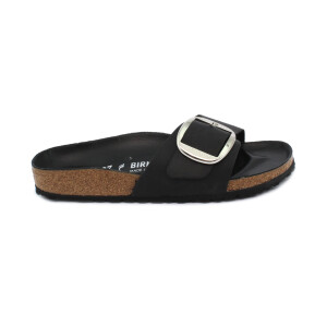 Slipper BIRKENSTOCK 1006523 Madrid Big Buckle black Oiled Leather