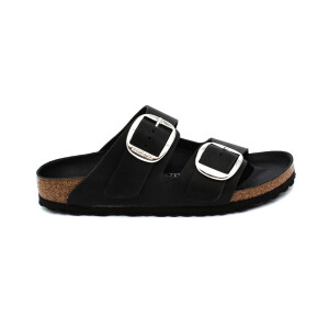 Slipper BIRKENSTOCK 1011075 Arizona Big Buckle black Oiled Leather