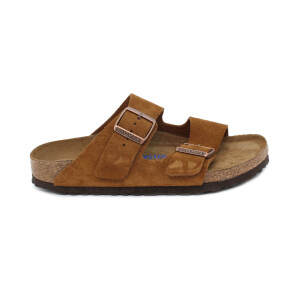 Slipper BIRKENSTOCK 1009527 Arizona SFB mink Suede Leather