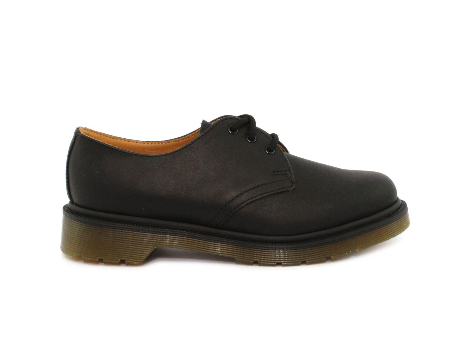 Scarpa stringata DR MARTENS 1461 PW Black 10078005 Greasy