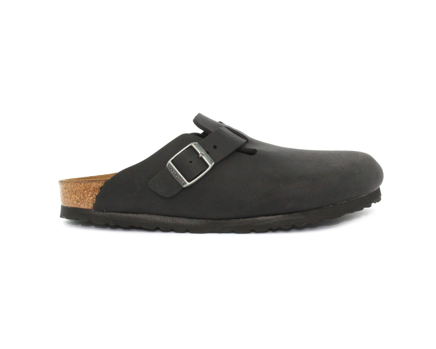 brand new 34d85 c887c Slipper BIRKENSTOCK BOSTON BS Black 59463