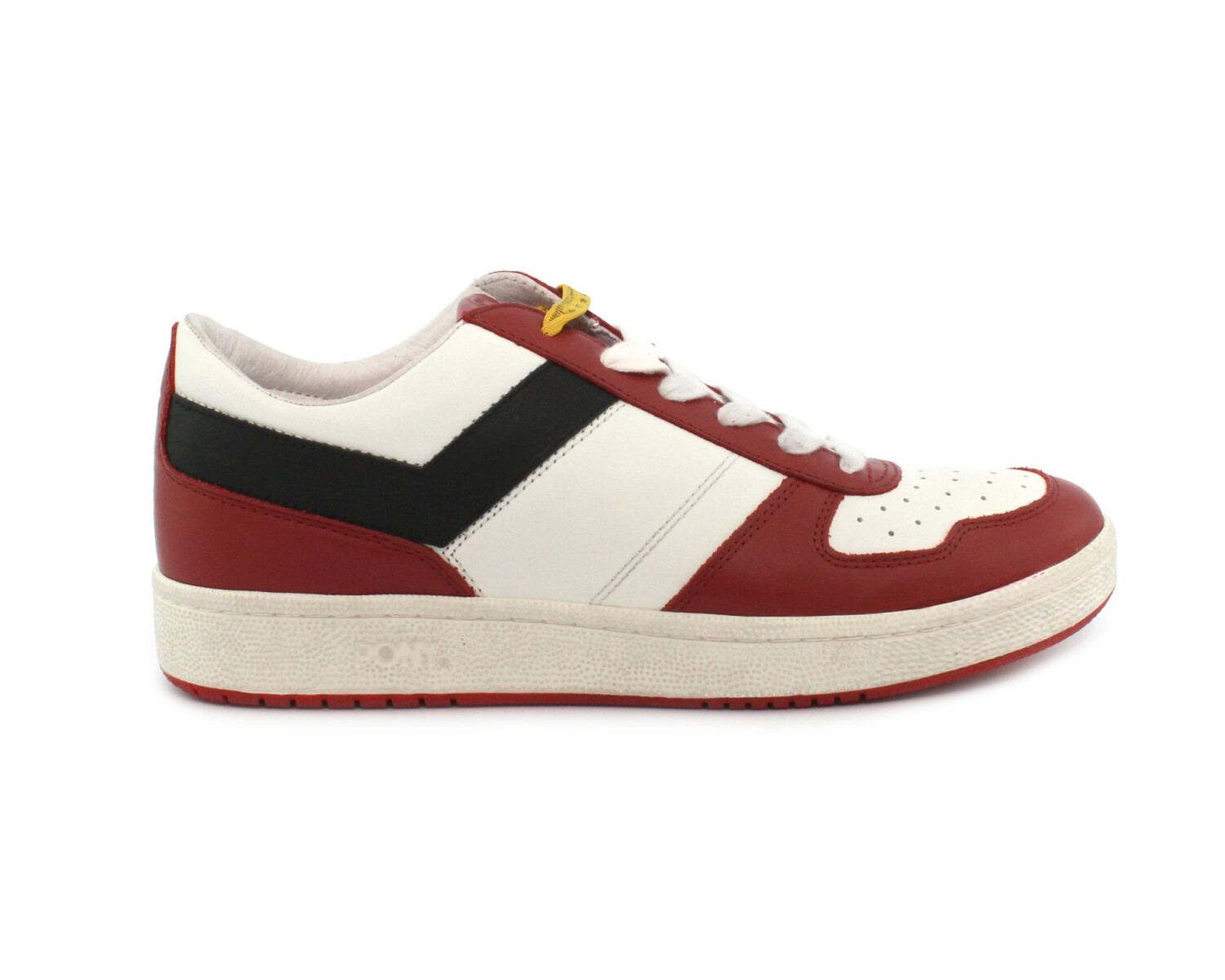 Sneaker PONY CITY WINGS 283 CLOUD DANCER RED/BLACK
