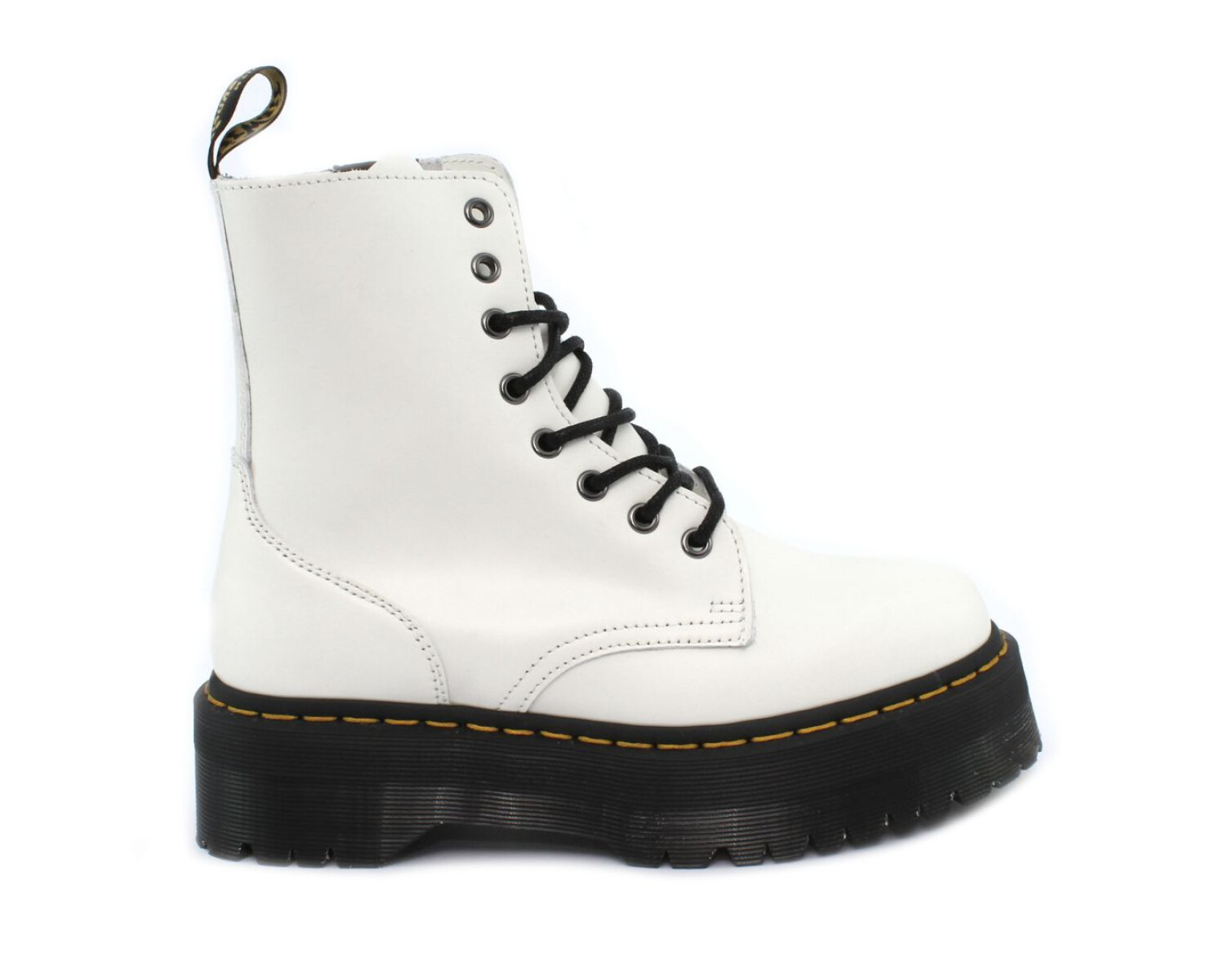 Anfibio DR MARTENS JADON 15265001 Polished Smooth White