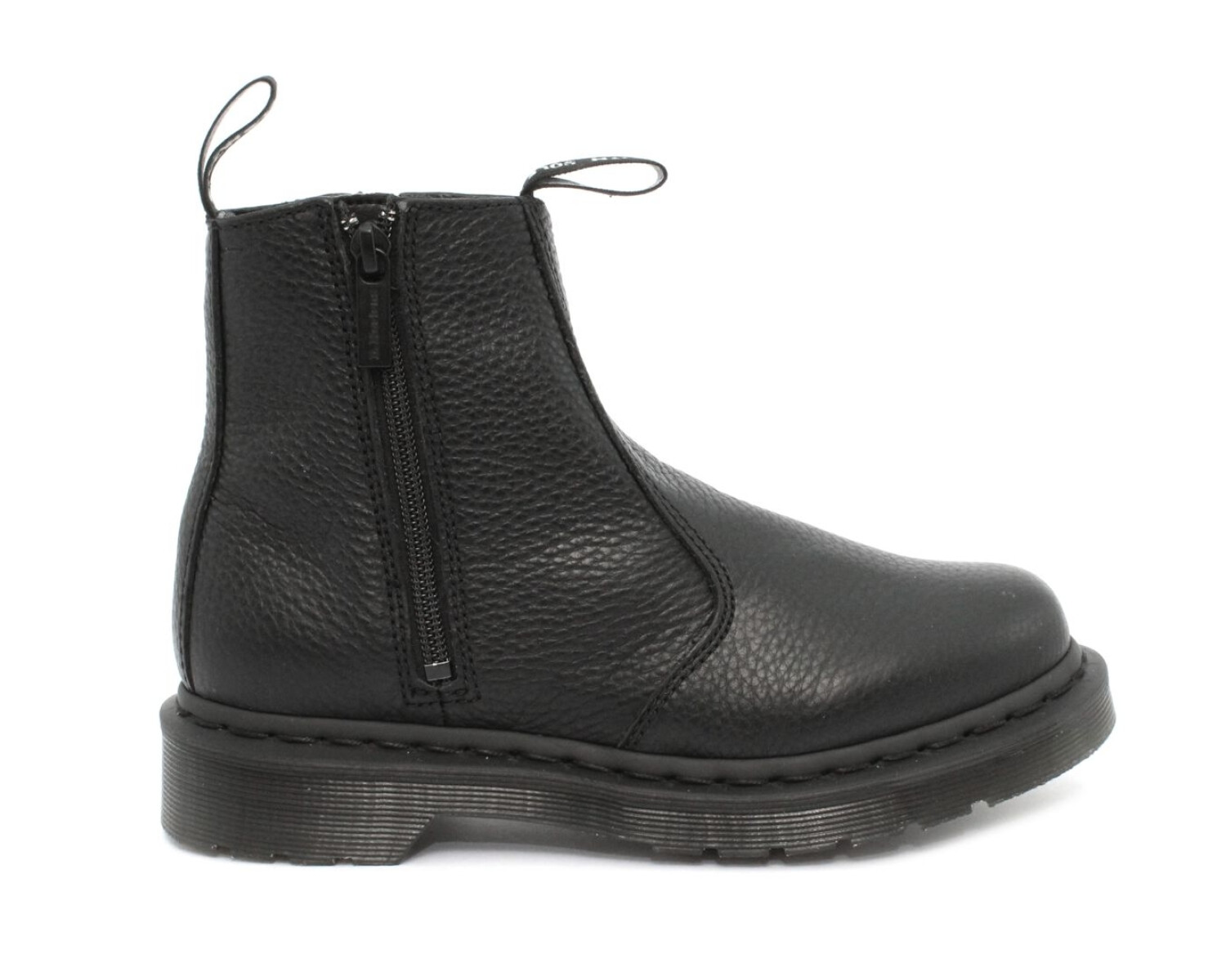 Anfibio DR MARTENS 2976 W/ZIPS BLACK AUNT SALLY 22133001