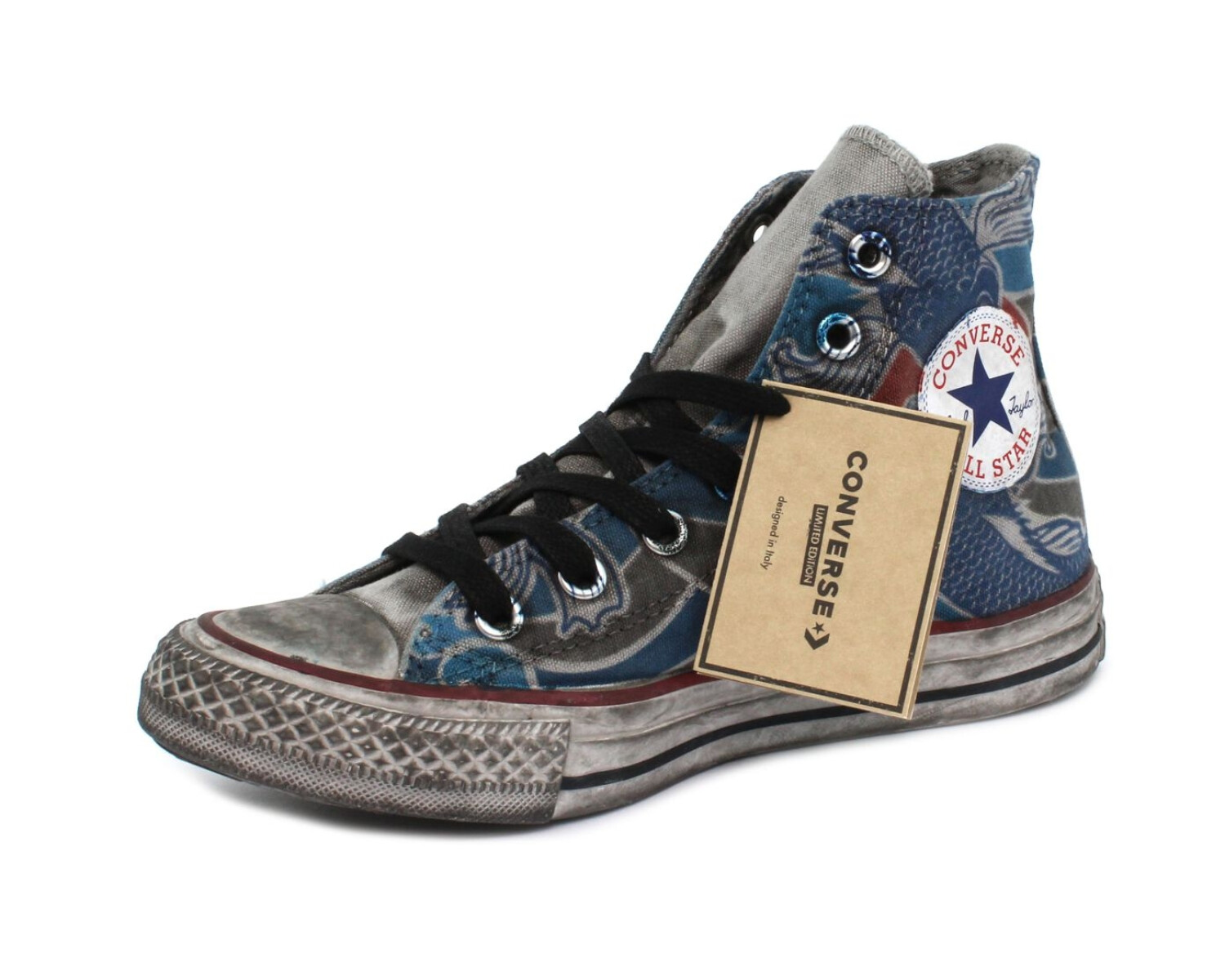 Sneaker CONVERSE CTAS CANVAS LTD HI TATTOO GOLDFISH 167392C