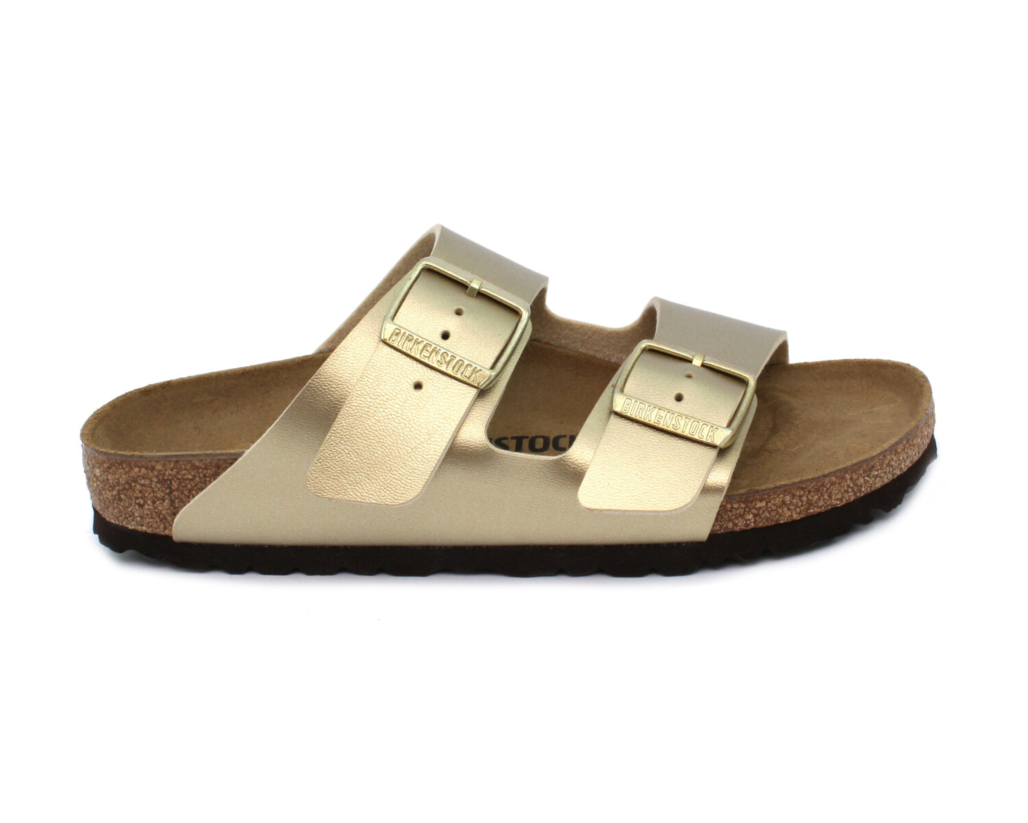 Slipper BIRKENSTOCK 1016111 Arizona gold Birko Flor