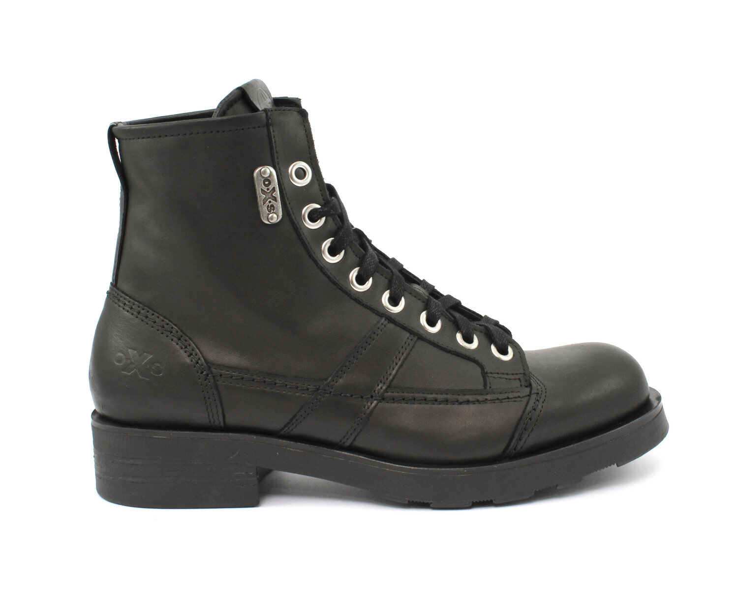 Stivaletto OXS FRANK 1901 MID M LEATHER BLACK