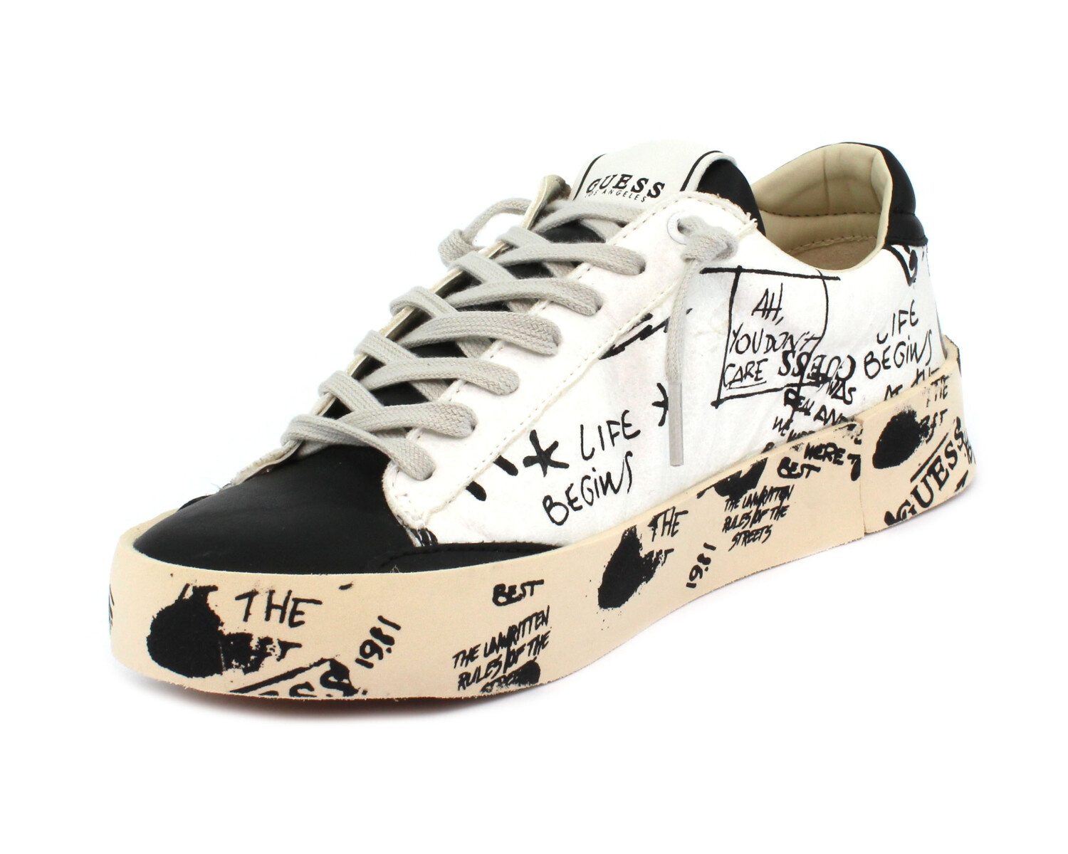 Sneaker GUESS FM8FIR PEL12 WHITE/ BLACK