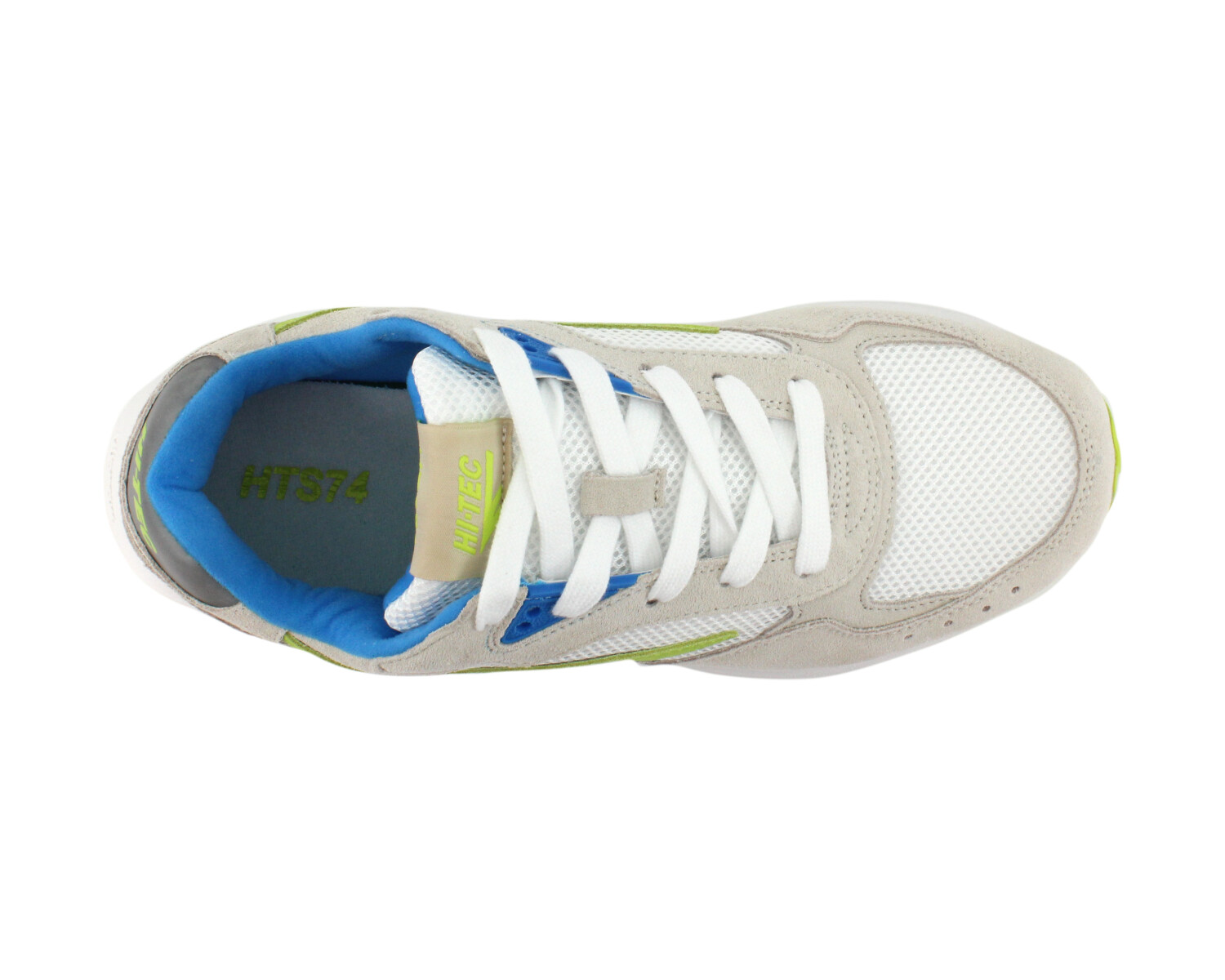 Sneaker HI-TEC HTS SHADOW RGS OFF WHITE/BLUE/LIME