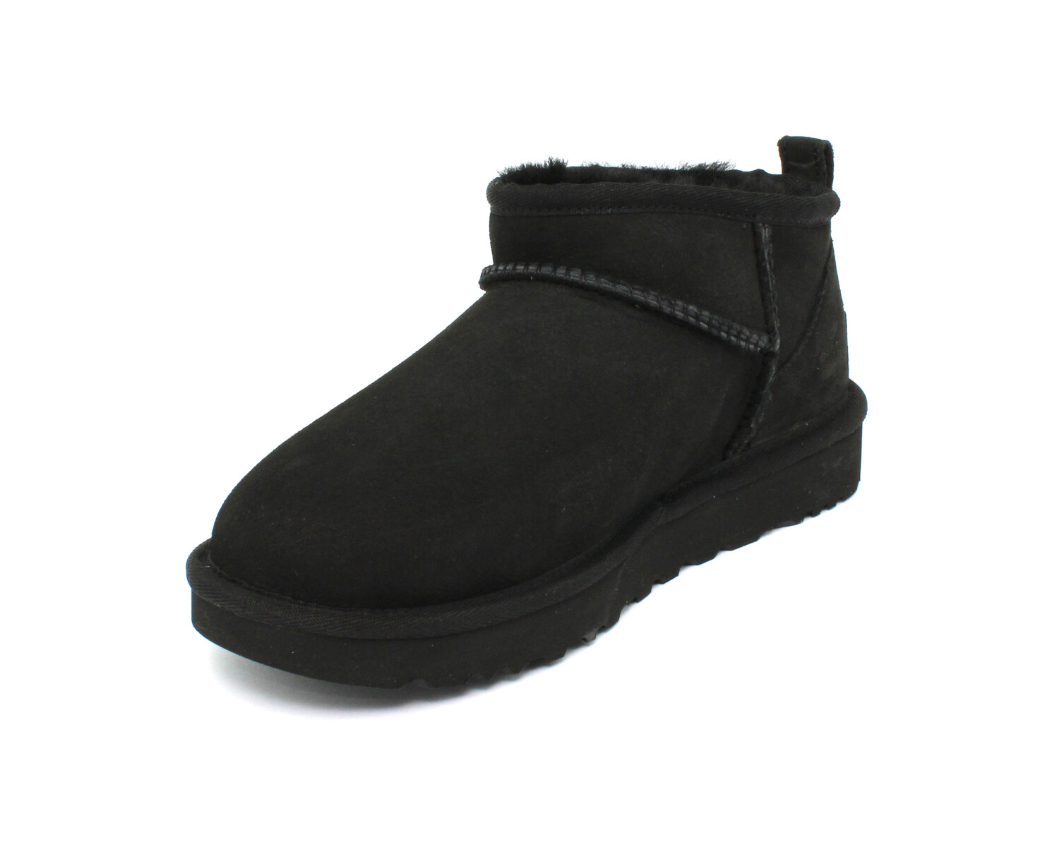 Stivaletto UGG W CLASSIC ULTRA MINI BLACK