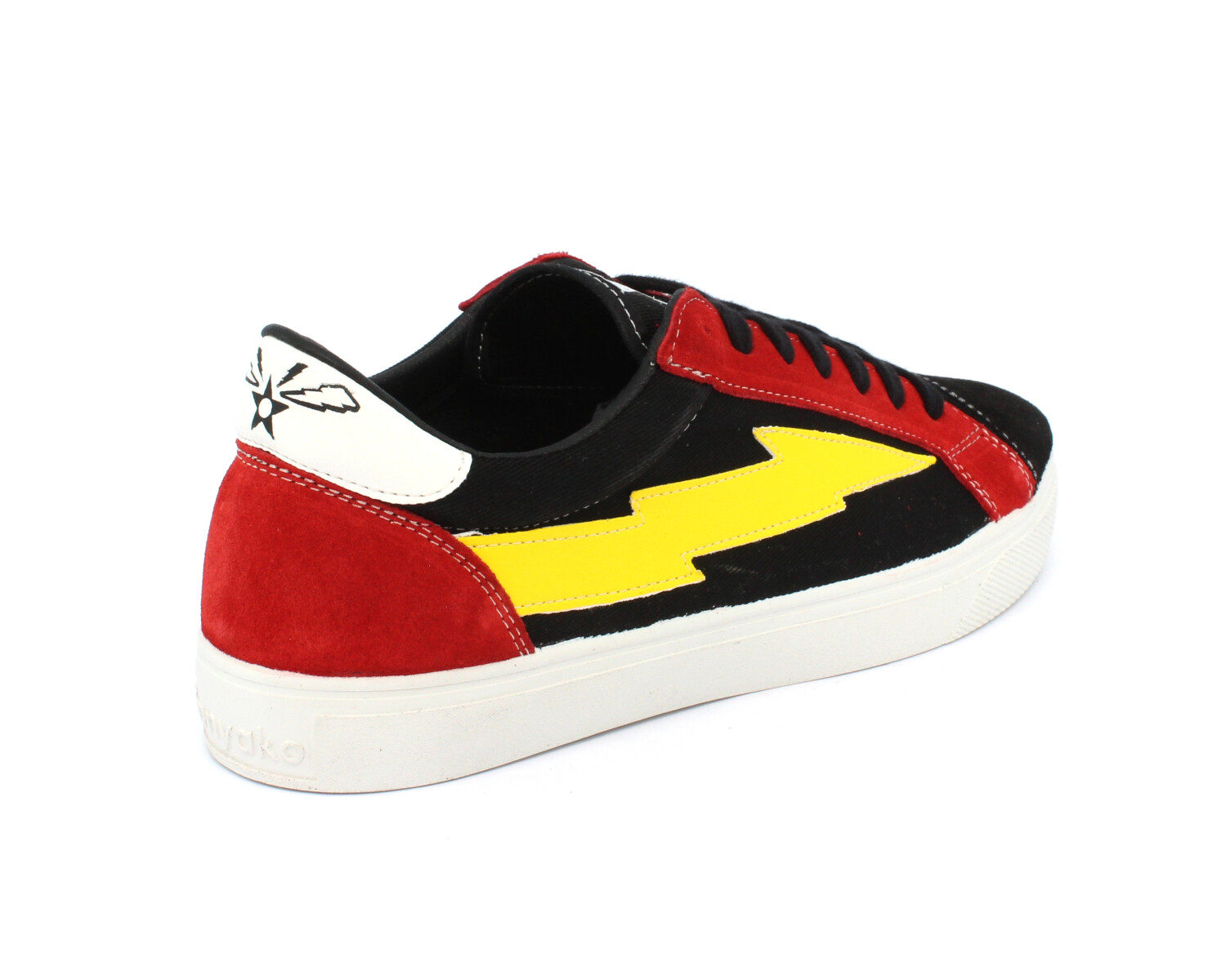 Sneaker SANYAKO THUNDERBOLT FLASH GORDON BLACK/RED/YELLOW
