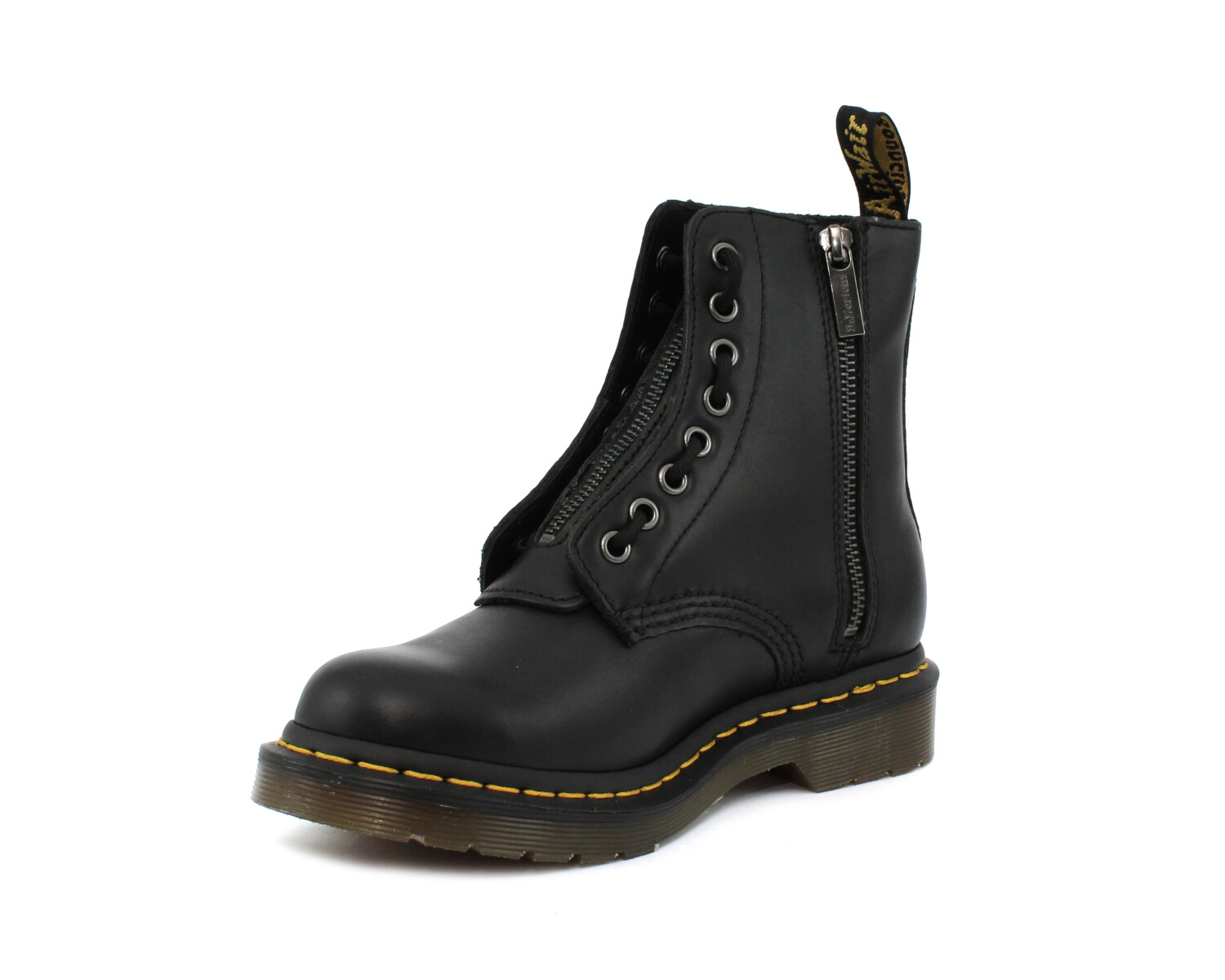 Stivaletto DR MARTENS 140 PASCAL FRONT ZIP NAPPA